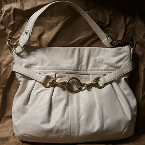 Coach Handbags - Vintage COACH Hampton's Pleated Soft leather Hobo
